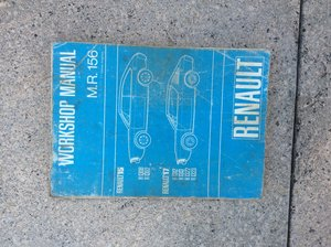 Renault 15 and Renault 17 Workshop manual