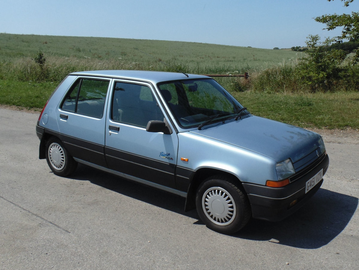 1990 Renault 5 Prima 1.4 Automatic SOLD (picture 2 of 6)