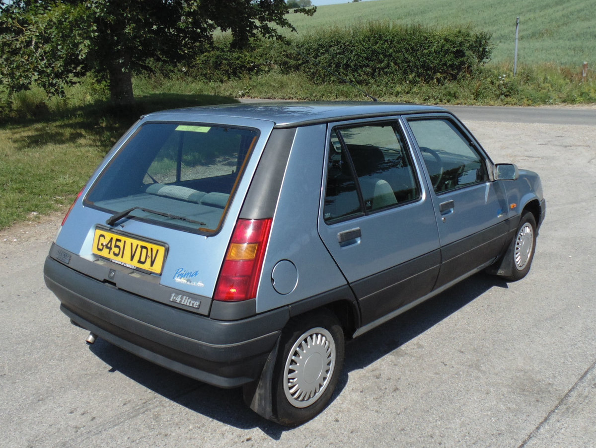 1990 Renault 5 Prima 1.4 Automatic SOLD (picture 3 of 6)