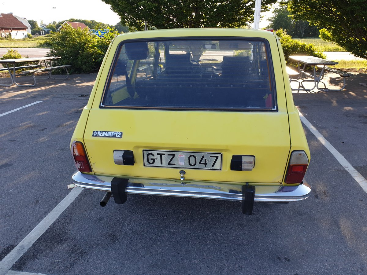 1974 A nice Renault R12 Breake, In good shape. For Sale (picture 2 of 6)