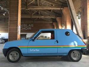 "1981 RENAULT 5 CAR ""LE VAN"" ALPINE"
