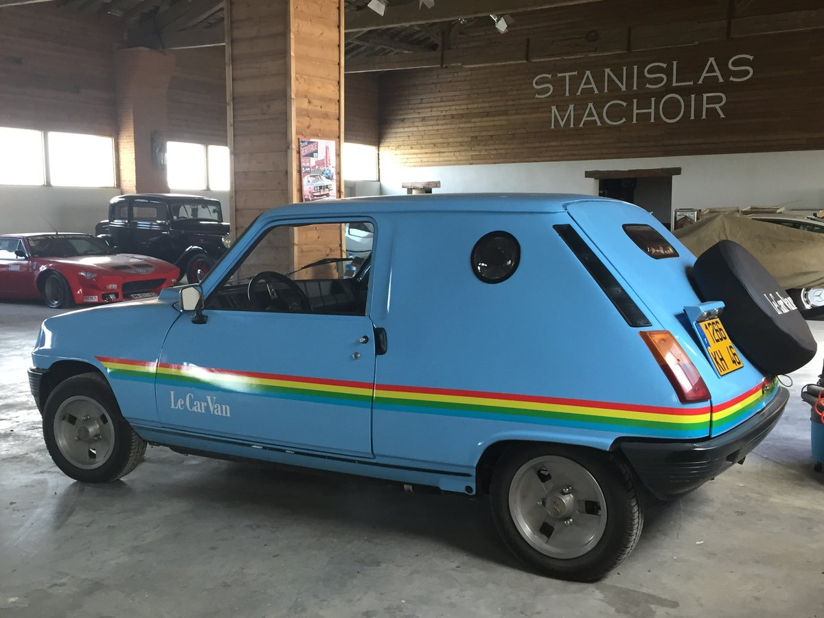"1981 RENAULT 5 CAR ""LE VAN"" ALPINE  SOLD by Auction (picture 2 of 3)"