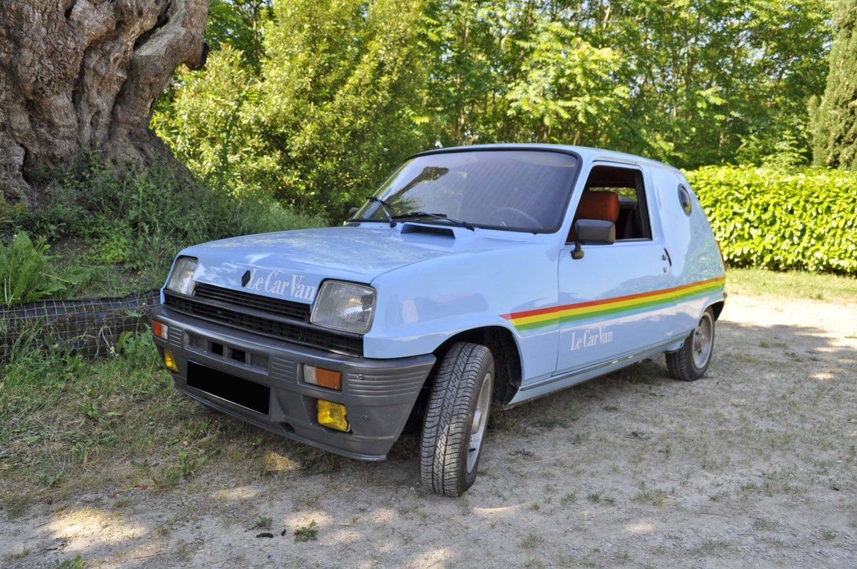 "1981 RENAULT 5 CAR ""LE VAN"" ALPINE  SOLD by Auction (picture 3 of 3)"