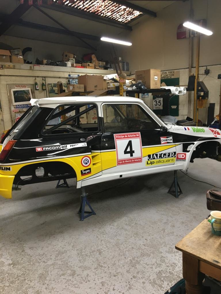 1982 Renault 5 Turbo 2 TDC / Maxi Conversion For Sale (picture 5 of 6)