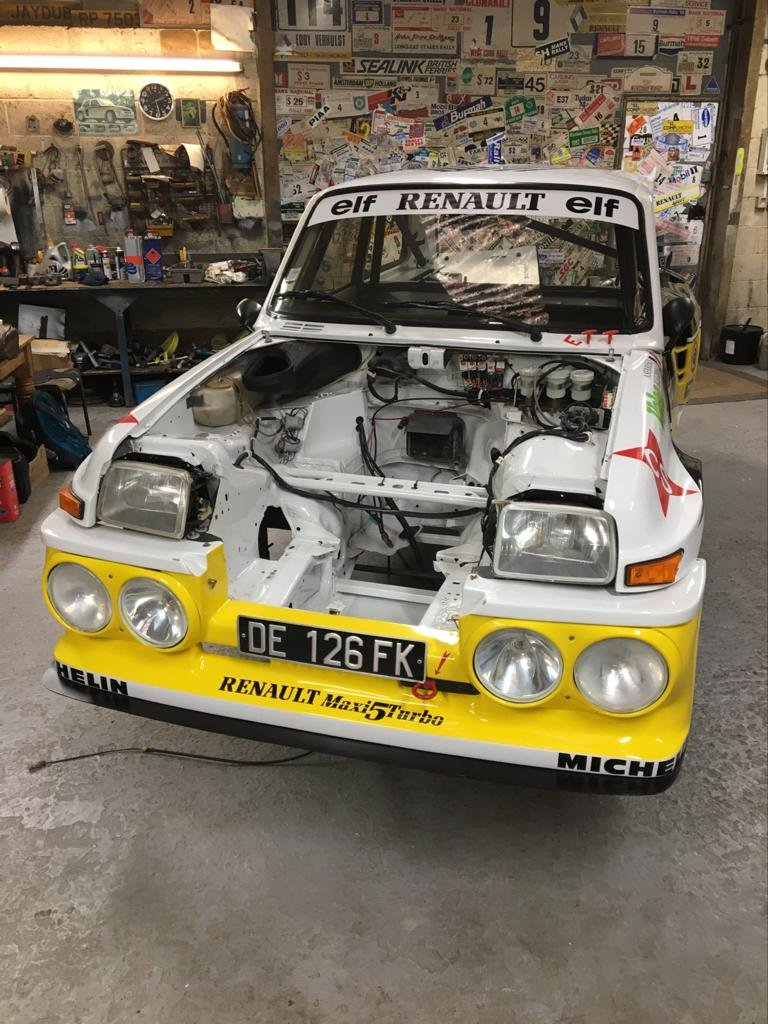 1982 Renault 5 Turbo 2 TDC / Maxi Conversion For Sale (picture 6 of 6)