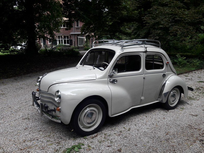 RENAULT 4CV 1960  BEAUTIFUL CAR 8950 EURO SOLD (picture 2 of 6)