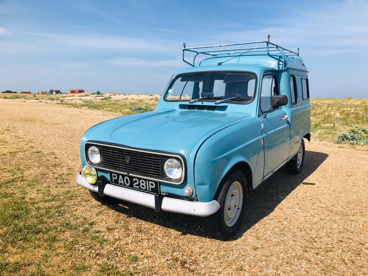 1975 Renault 4 Fourgenette for auction 16th - 17th July SOLD by Auction (picture 1 of 6)