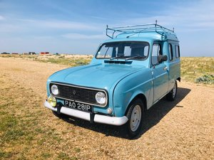 1975 Renault 4 Fourgenette for auction 16th - 17th July