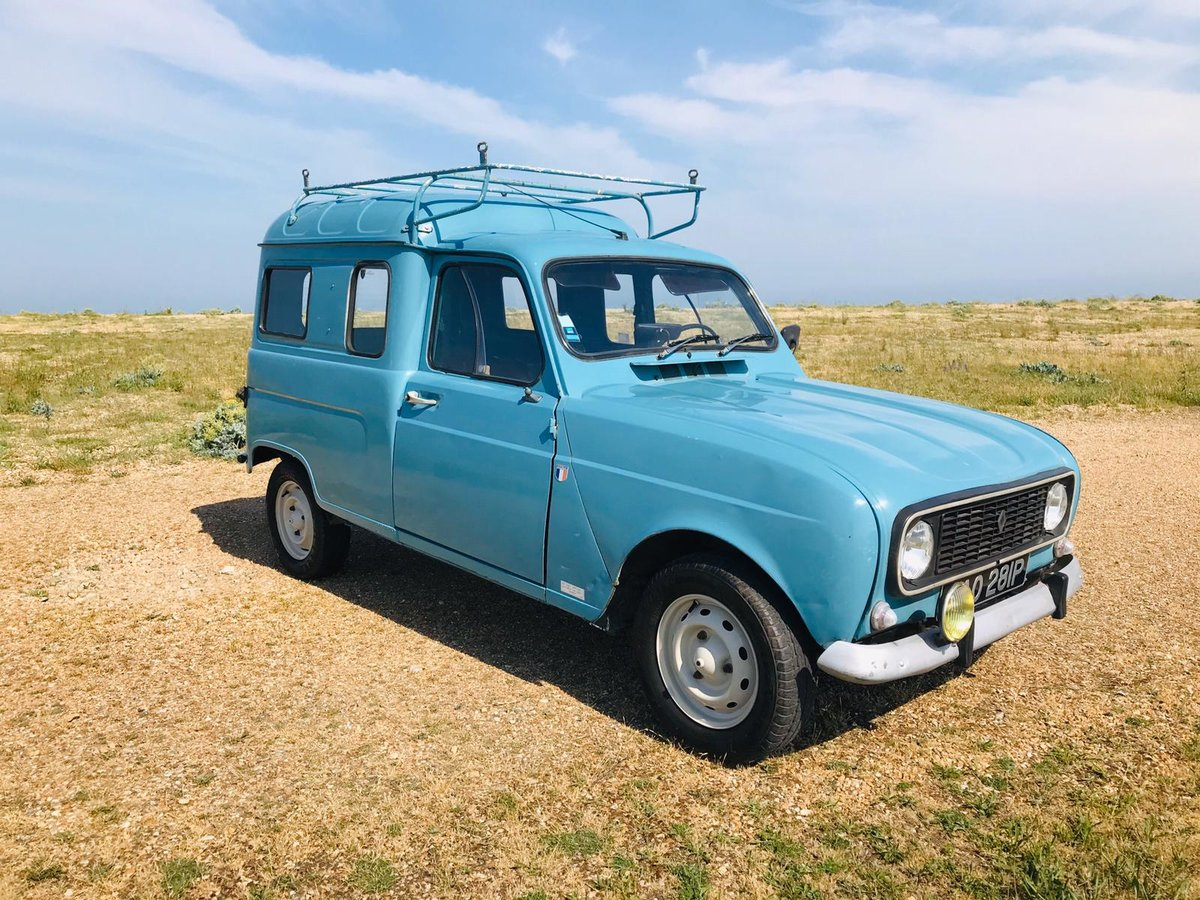 1975 Renault 4 Fourgenette for auction 16th - 17th July SOLD by Auction (picture 2 of 6)