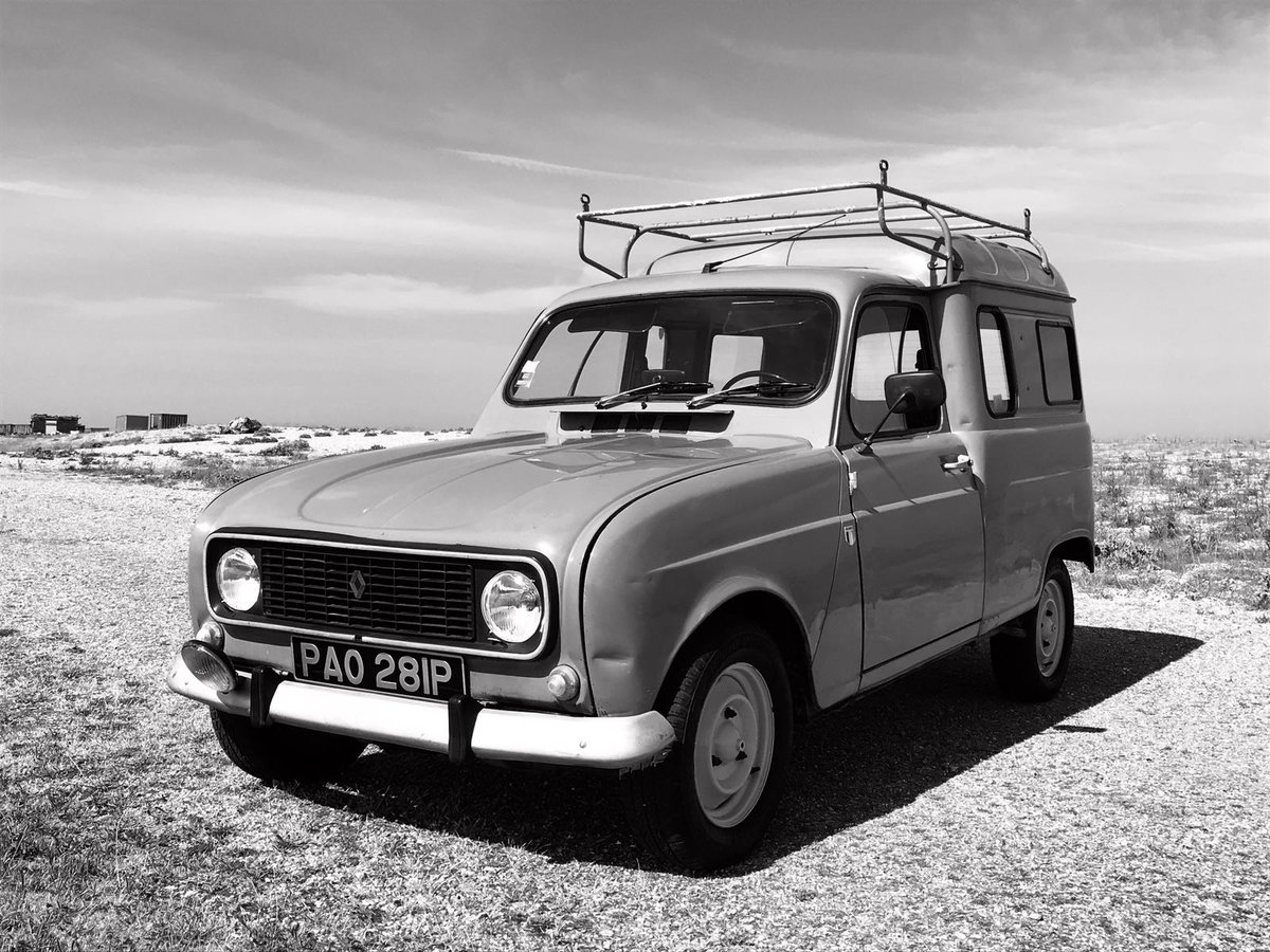 1975 Renault 4 Fourgenette for auction 16th - 17th July SOLD by Auction (picture 6 of 6)