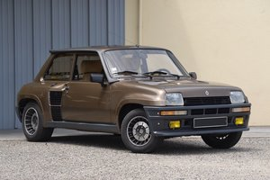 "1985 Renault 5 Turbo 2 série "" 8221 "" For Sale by Auction"