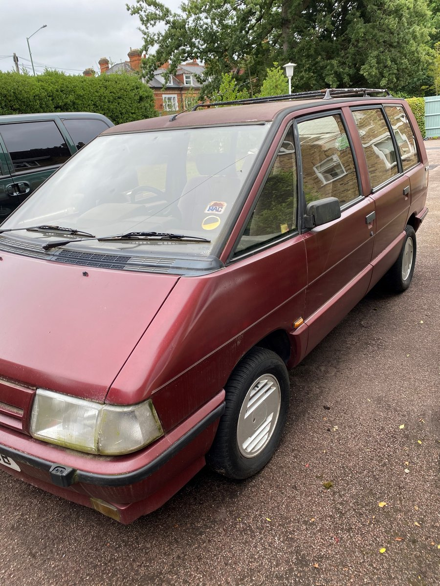 1990 Renault Espace TXE SOLD (picture 1 of 6)