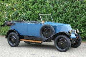 Renault NN Torpedo Cabrio, LHD, 1926 SOLD