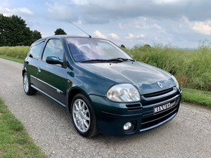 2001  Renault Clio 172 exclusive *no. 94 of 172* 73k