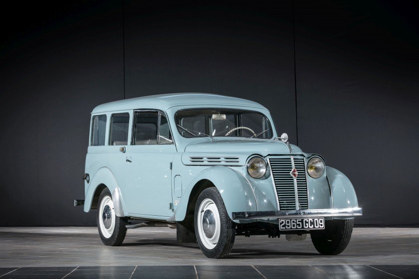 1957 Renault Juvaquatre Dauphinoise - No reserve For Sale by Auction (picture 1 of 6)