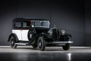 1933 Renault Primastella (PG8) Berline - No reserve For Sale by Auction