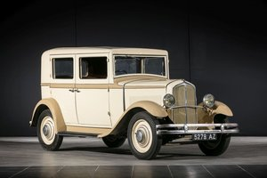 Circa 1932 Renault Monaquatre - No reserve For Sale by Auction