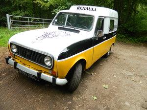 1983 Renault 4 Van