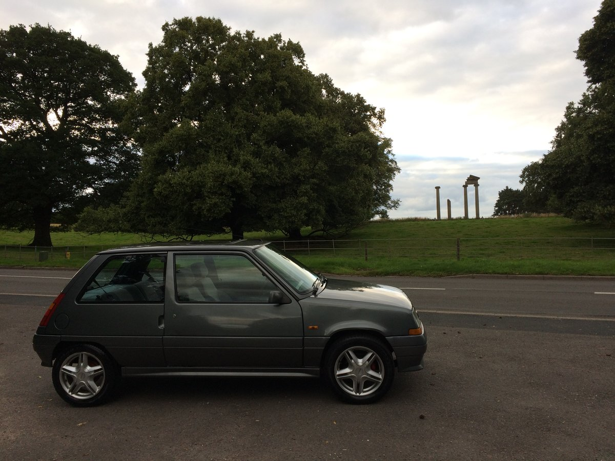 1990 RENAULT 5 GTX SOLD (picture 1 of 6)