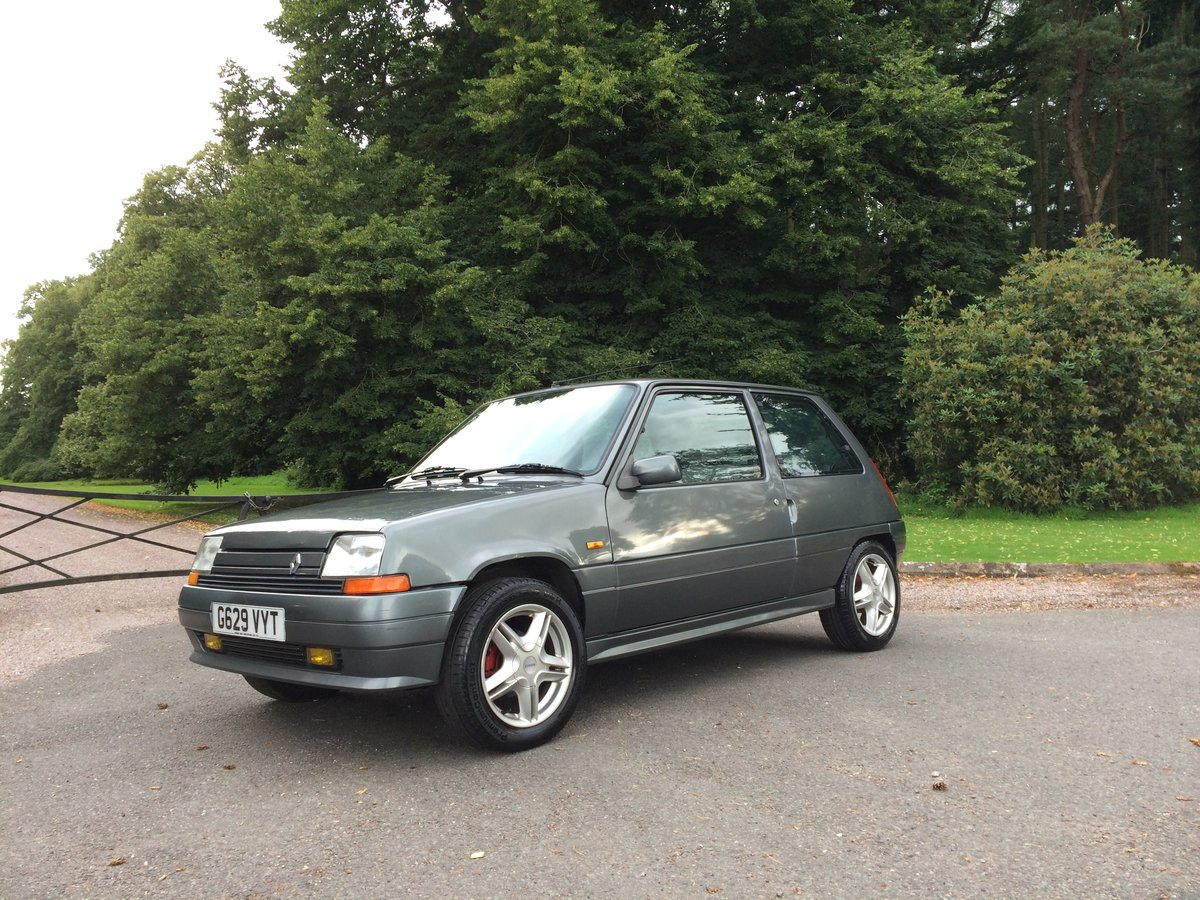 1990 RENAULT 5 GTX SOLD (picture 3 of 6)