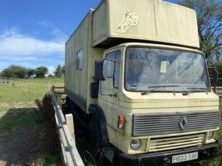1989 Renault dodge 100 commando ex marine vehicle For Sale (picture 3 of 5)