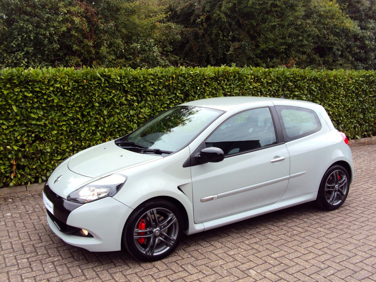 2011 RARE STORM GREY RS CLIO 200 - 1 OWNER - LOW MILEAGE - FMDSH For Sale (picture 2 of 6)