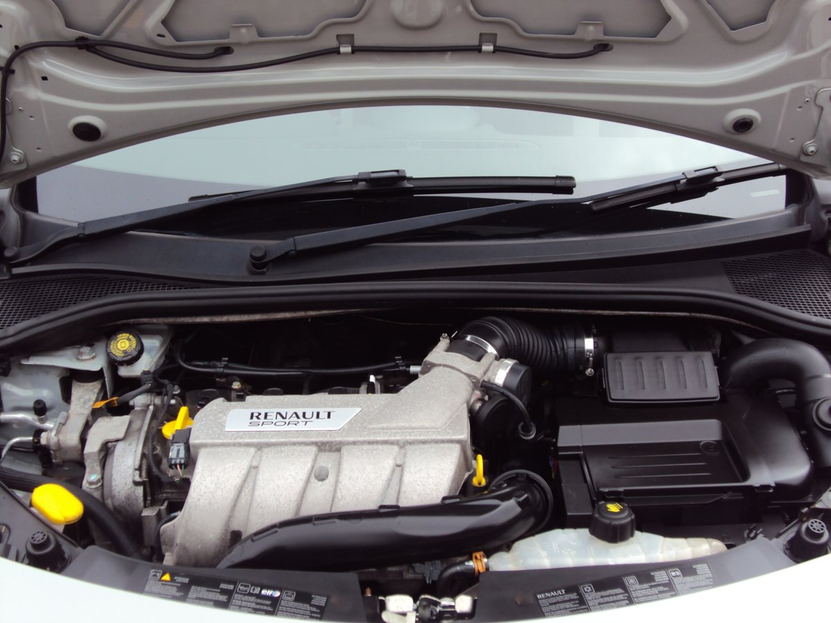 2011 RARE STORM GREY RS CLIO 200 - 1 OWNER - LOW MILEAGE - FMDSH For Sale (picture 6 of 6)