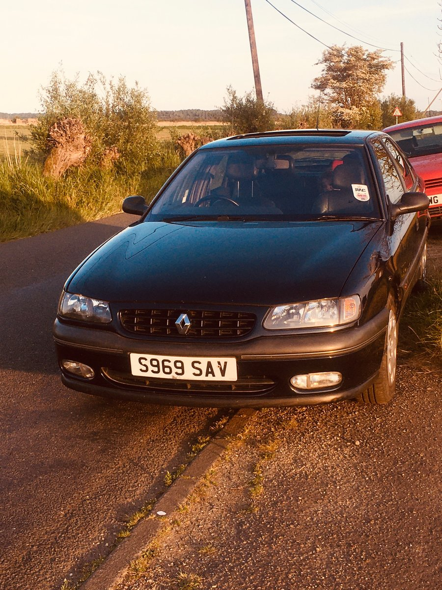 1998 Renault Safrane Executive, 55k with History. For Sale (picture 1 of 4)