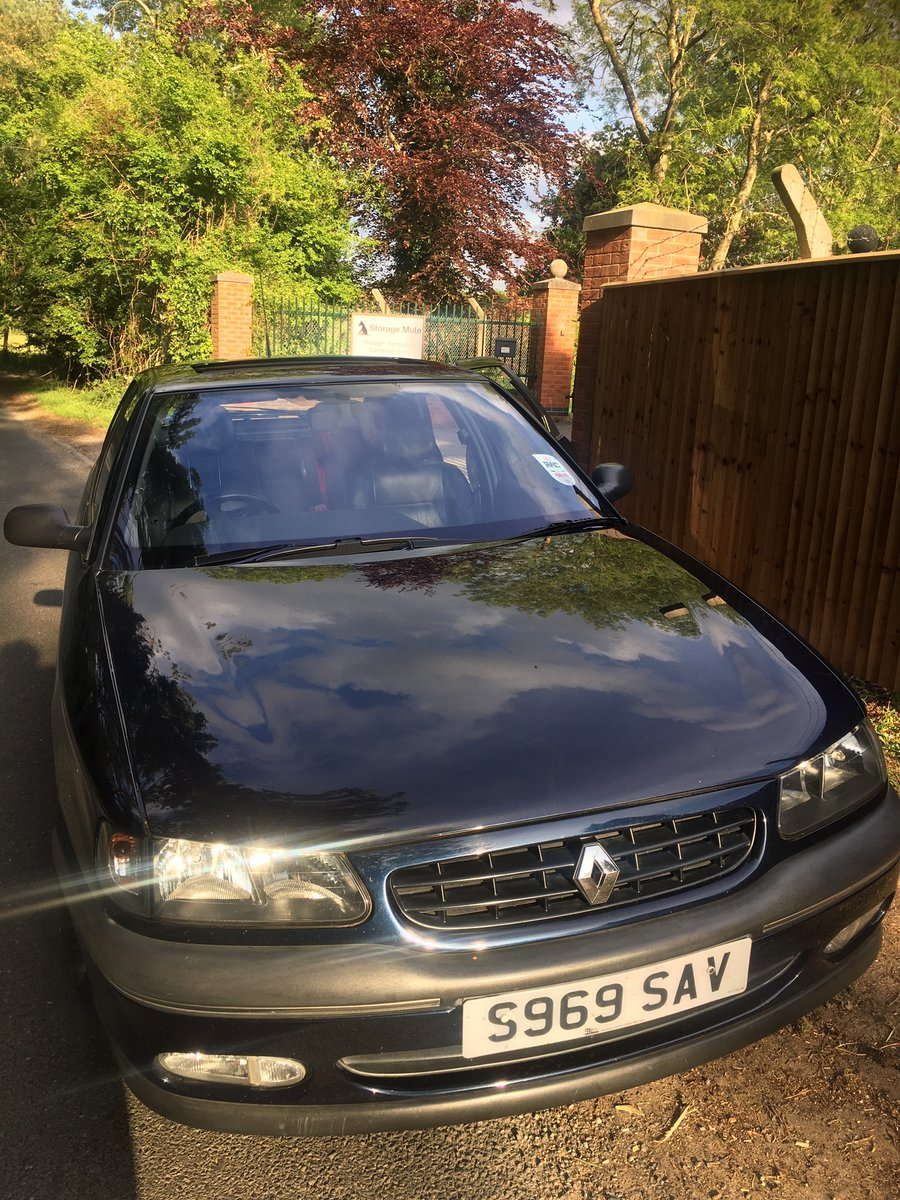 1998 Renault Safrane Executive, 55k with History. For Sale (picture 2 of 4)