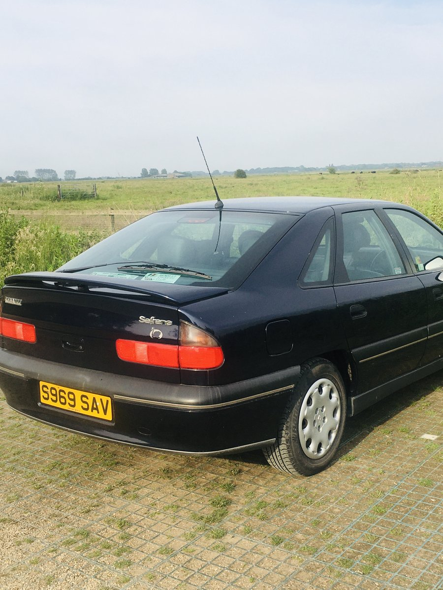 1998 Renault Safrane Executive, 55k with History. For Sale (picture 4 of 4)