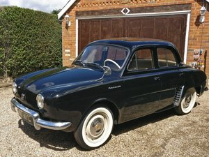 1962 Renault Dauphine Gordini LHD at ACA 22nd August  For Sale