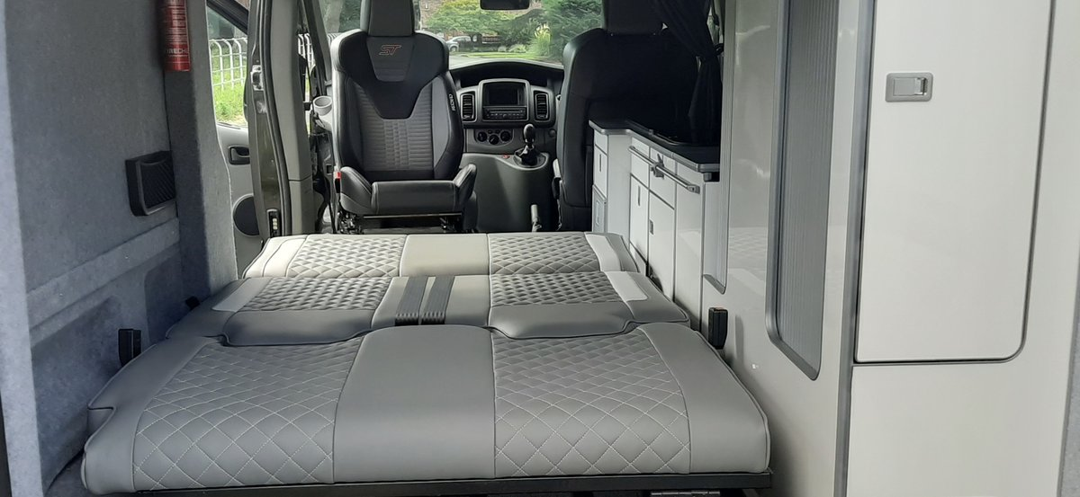 2012 Renault Traffic LL29 Sport Dci Camper Van For Sale (picture 3 of 6)