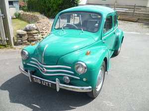 Award winning Renault 4CV. Right hand drive.