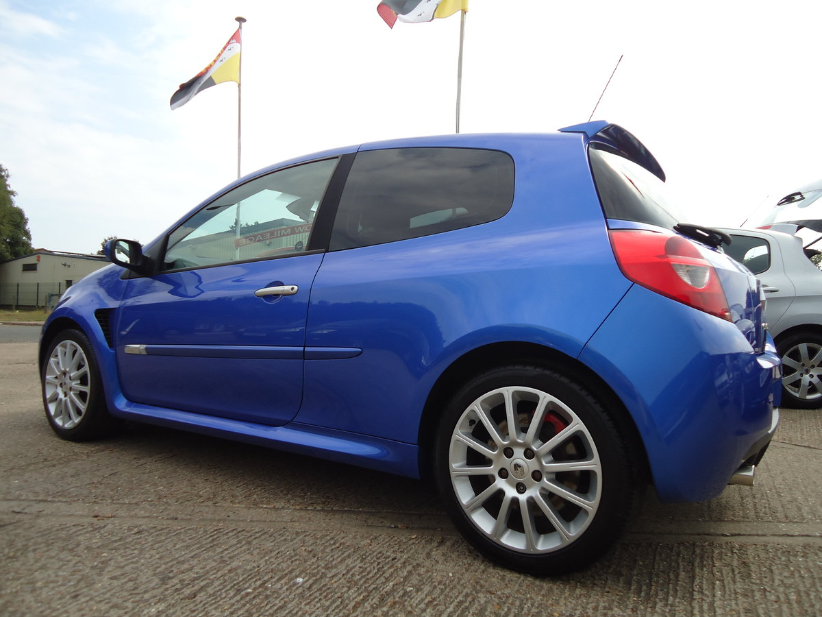 0656 LOW MILEAGE CLIO RENAULTSPORT For Sale (picture 5 of 5)