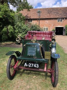 1901 Renault Model E for sale by Auction 19th September For Sale by Auction