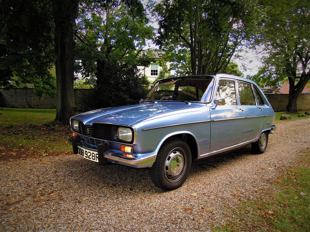 1976 Stunning time-warp Renault 16 TL automatic SOLD (picture 1 of 6)