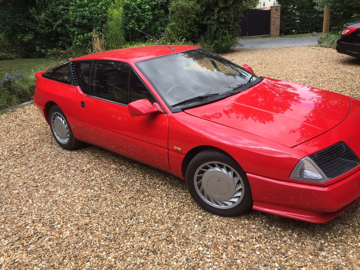 1989 Alpine Renault GTa SOLD (picture 4 of 5)