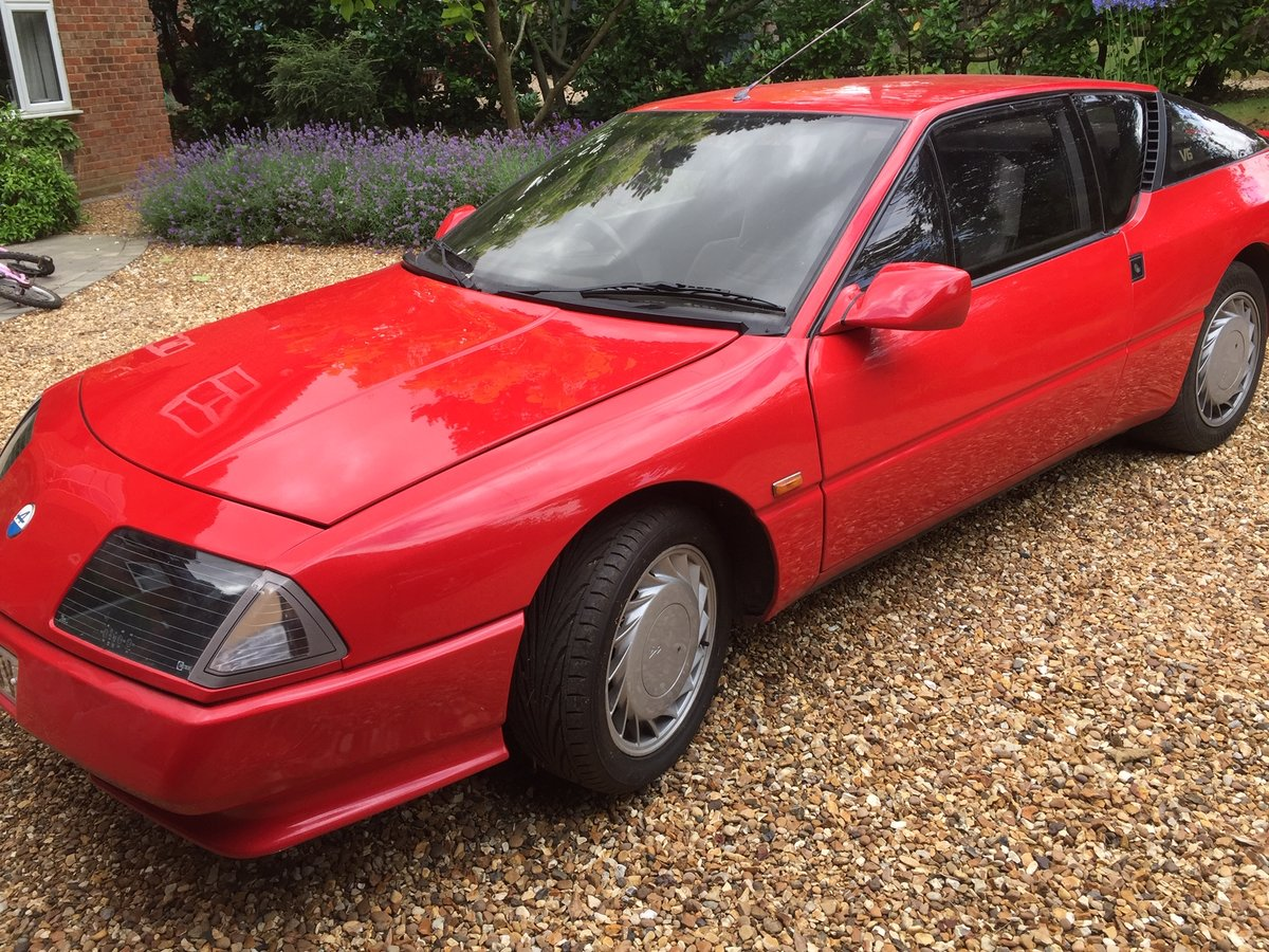 1989 Alpine Renault GTa SOLD (picture 5 of 5)