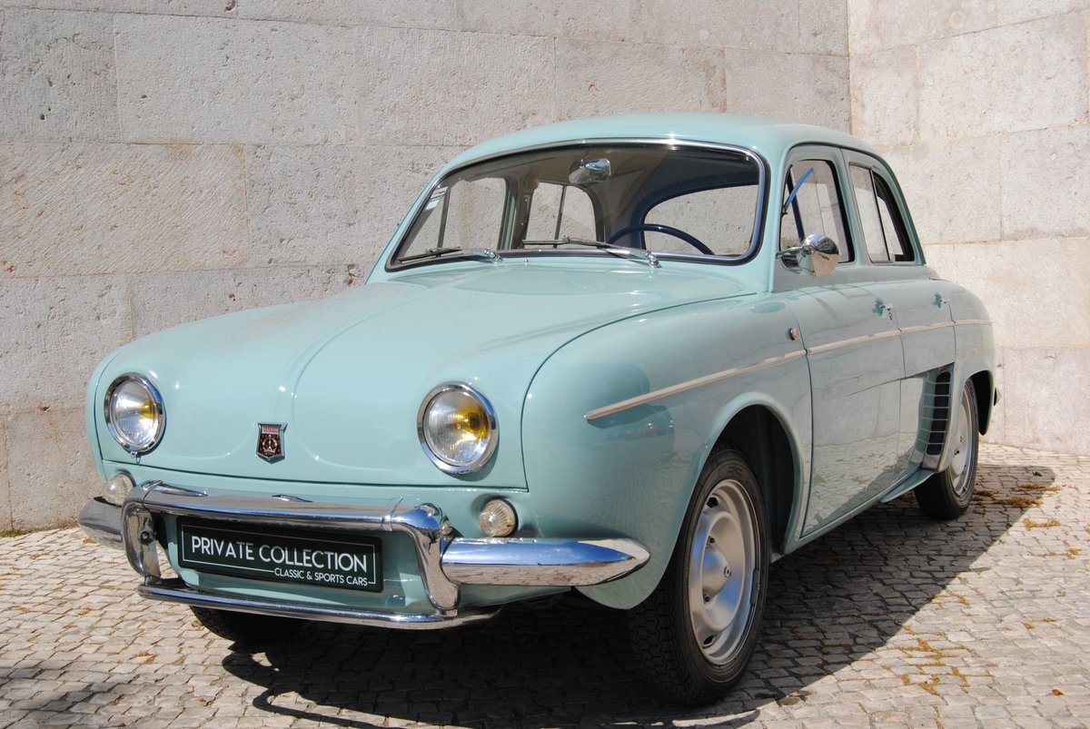 1963 Dauphine gordini restored 100% matching numbers For Sale (picture 1 of 6)