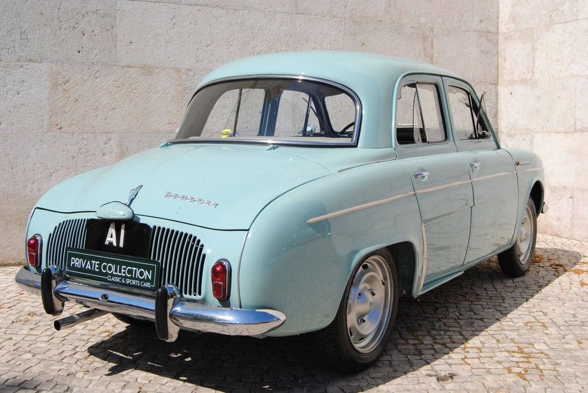 1963 Dauphine gordini restored 100% matching numbers For Sale (picture 2 of 6)