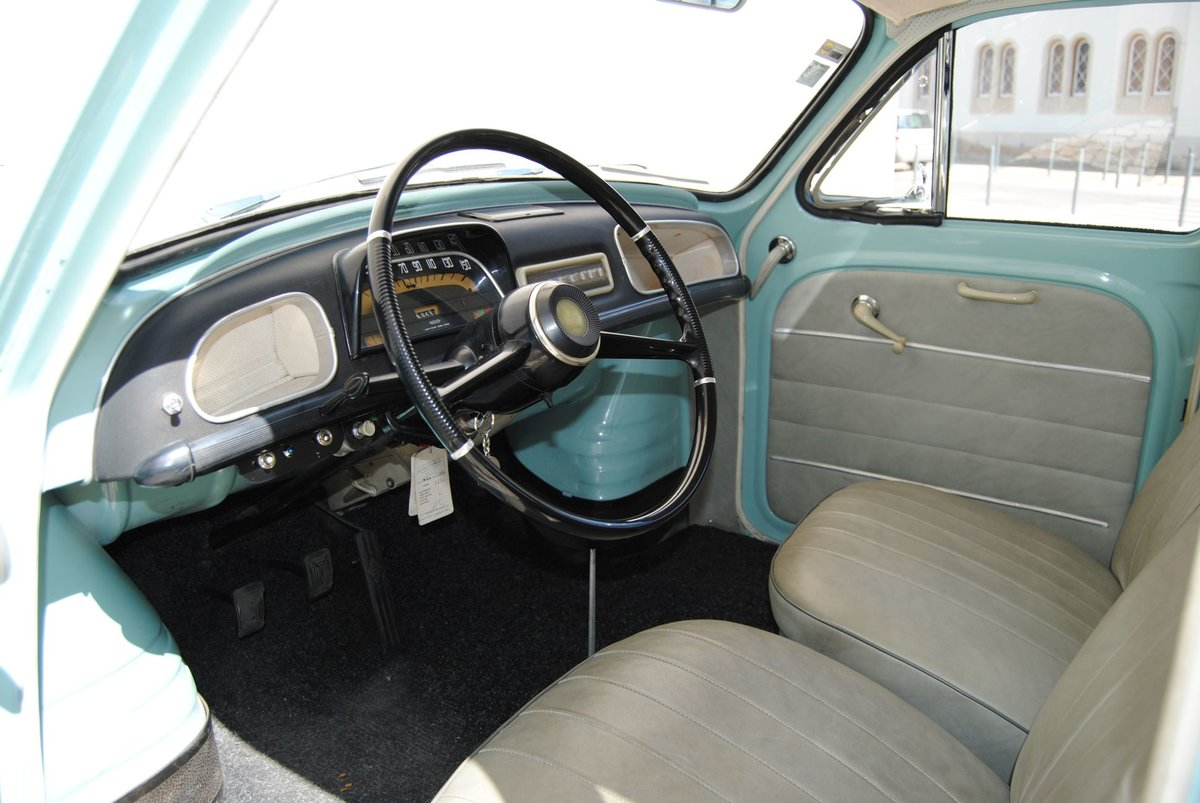 1963 Dauphine gordini restored 100% matching numbers For Sale (picture 3 of 6)