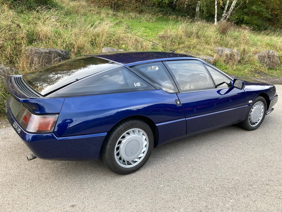 1990 ABSOLUTELY SUPERB RENAULT GTA For Sale (picture 2 of 6)
