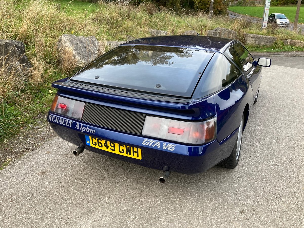 1990 ABSOLUTELY SUPERB RENAULT GTA For Sale (picture 3 of 6)