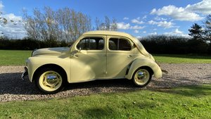 RENAULT 4CV-EARLY 1950-Ex Holland museum-restored.