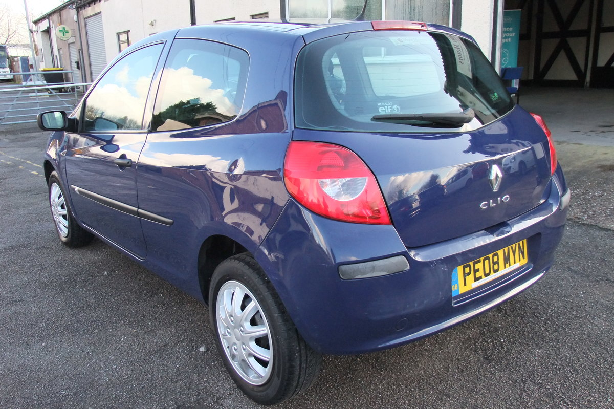 2008 RENAULT CLIO 1.1 EXTREME 16V 3DR For Sale (picture 3 of 6)