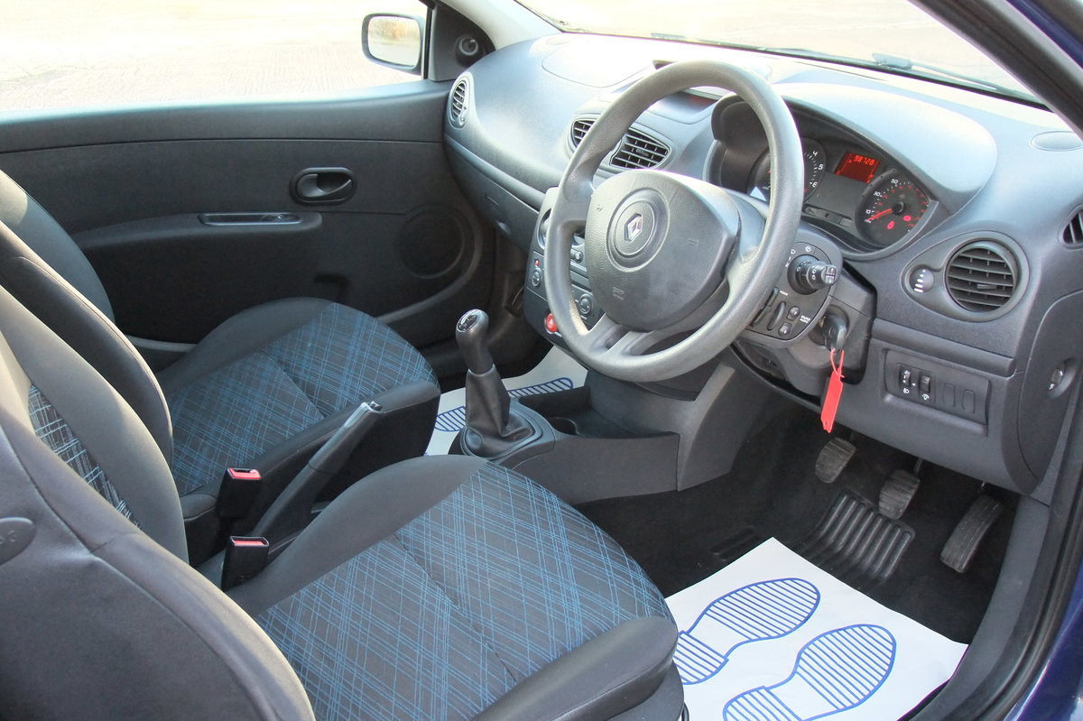 2008 RENAULT CLIO 1.1 EXTREME 16V 3DR For Sale (picture 6 of 6)