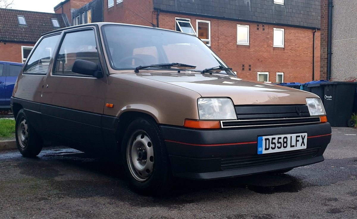 1986 Renault 5 GTL  For Sale (picture 1 of 6)