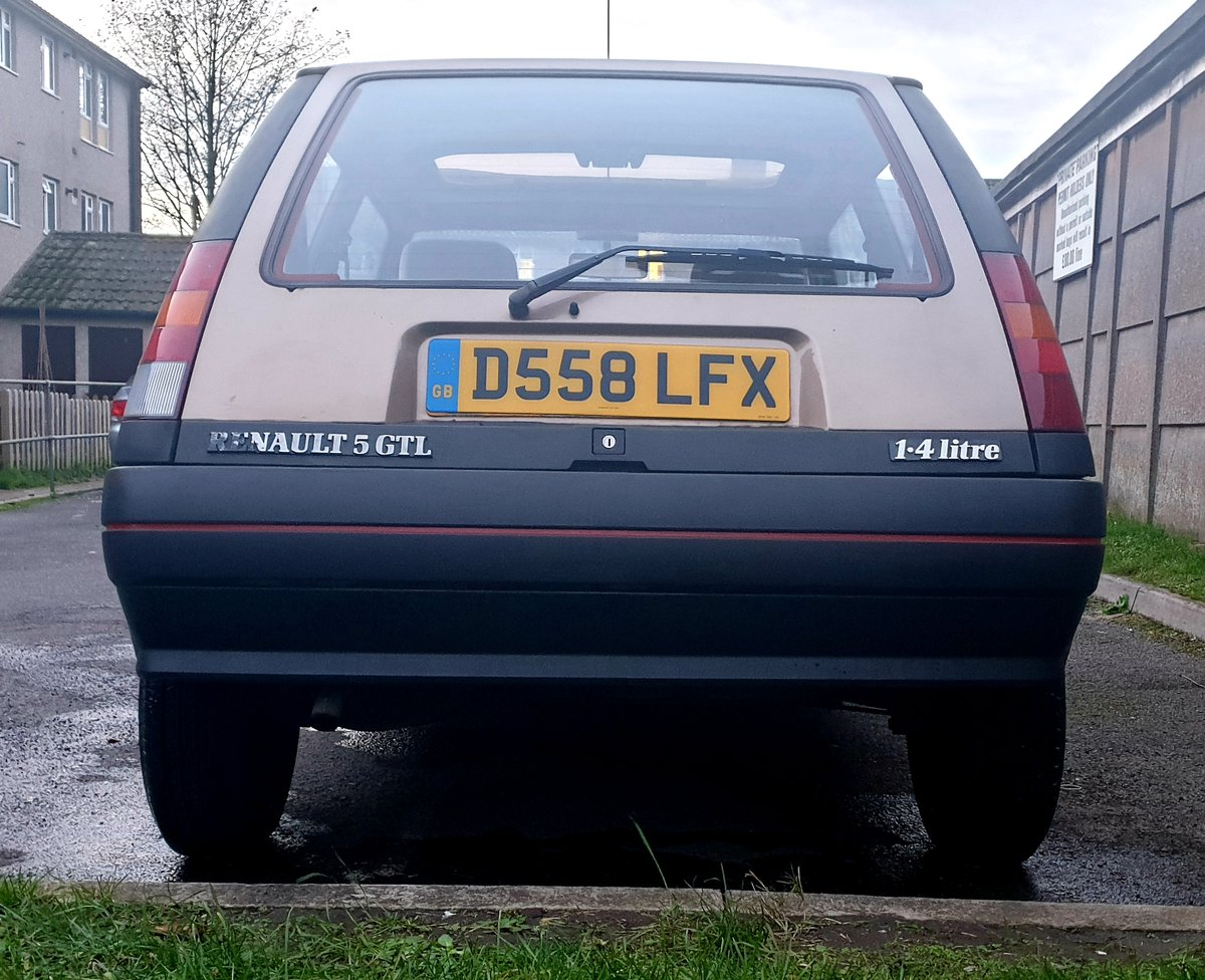 1986 Renault 5 GTL  For Sale (picture 3 of 6)