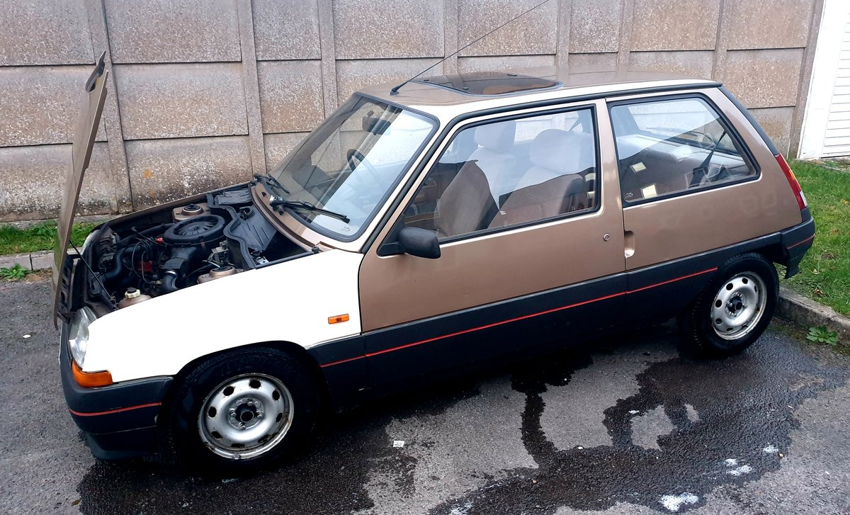 1986 Renault 5 GTL  For Sale (picture 4 of 6)