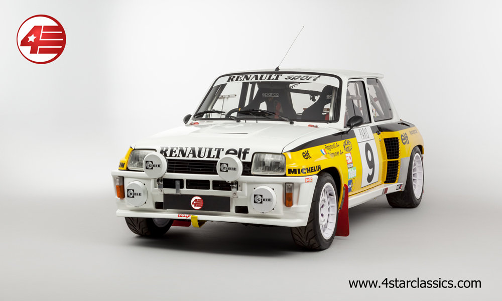 1983 Renault 5 Turbo 2 'Tour de Corse' /// RHD For Sale (picture 1 of 12)
